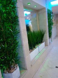 בירוק צמחיה מלאכותית ללובי 6