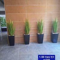 בירוק צמחיה מלאכותית ללובי 8